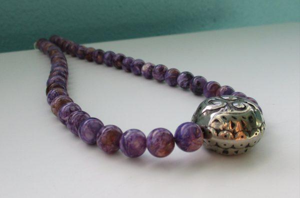 charotite necklace