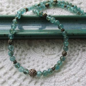 green kyanite necklace
